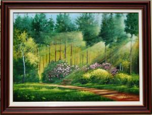 Fények és rhododendronok